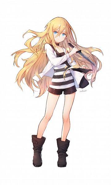 Tags: Anime, swd3e2, Satsuriku no Tenshi, Rachel Gardner, Pixiv, Fanart, Fanart From Pixiv