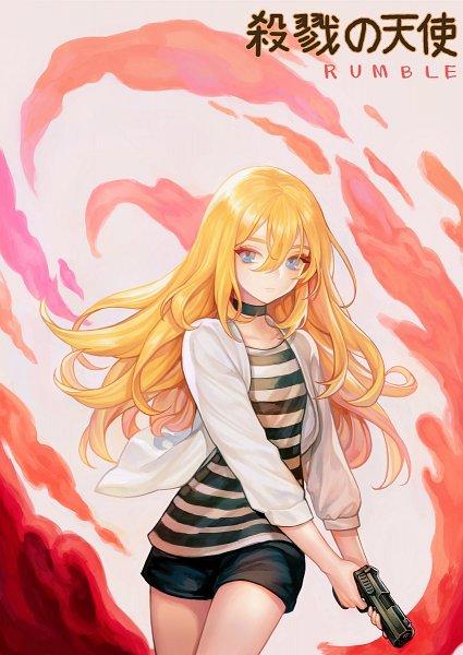Tags: Anime, Pixiv Id 3603006, Satsuriku no Tenshi, Rachel Gardner, Pixiv, Fanart, Fanart From Pixiv