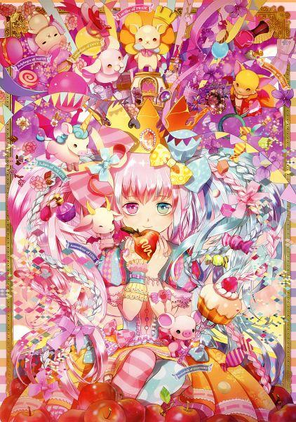 Tags: Anime, Radu, Eshi 100-nin Ten 04, Perfume Bottle, Original, Scan