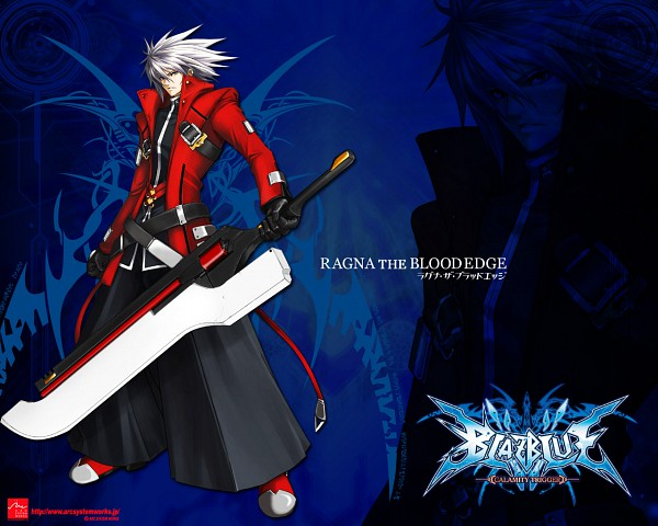 Tags: Anime, Arc System Works, BlazBlue, Ragna the Bloodedge, Wallpaper, Official Art, Official Wallpaper
