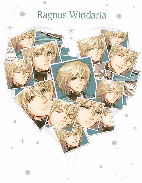 Tags: Anime, Tony Taka, Shining Hearts, Ragnus Wyndaria, Scan, Official Art