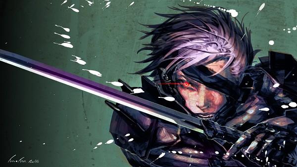 Tags: Anime, Pixiv Id 1587978, KONAMI, Metal Gear Solid, Raiden, Facebook Cover, Wallpaper