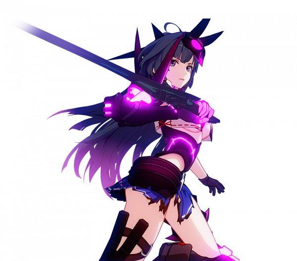 Tags: Anime, Houkai 3rd, Raiden Mei, Official Art
