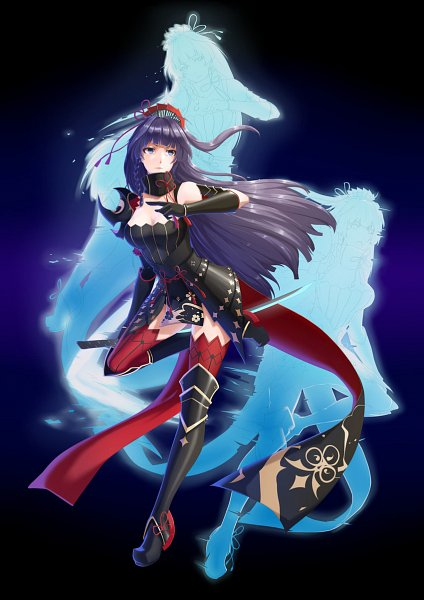 Tags: Anime, Pixiv Id 7633444, Houkai 3rd, Raiden Mei