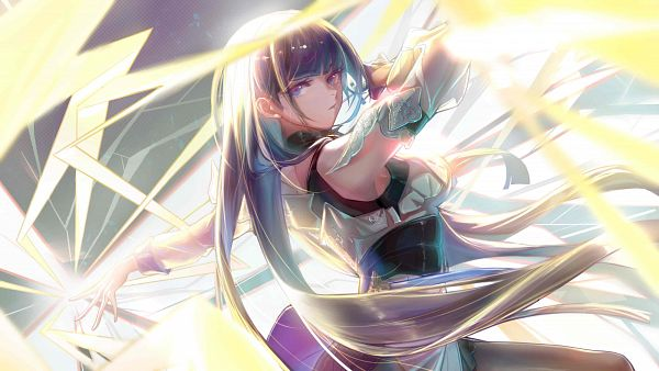 Tags: Anime, Pixiv Id 23338848, Houkai 3rd, Raiden Mei, 3200x1800 Wallpaper, HD Wallpaper, Wallpaper