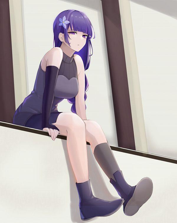 Tags: Anime, Pixiv Id 52865892, Genshin Impact, Raiden Shogun