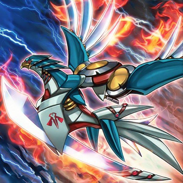 Raidraptor - Blade Burner Falcon - Yu-Gi-Oh! ARC-V