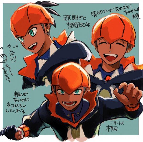 Tags: Anime, Pixiv Id 36345951, Pokémon Sword & Shield, Pokémon, Raihan, Fanart, Fanart From Pixiv, Pixiv