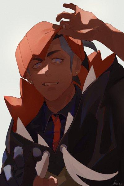 Tags: Anime, Pixiv Id 32171526, Pokémon Sword & Shield, Pokémon, Raihan, Pixiv, Fanart, Fanart From Pixiv