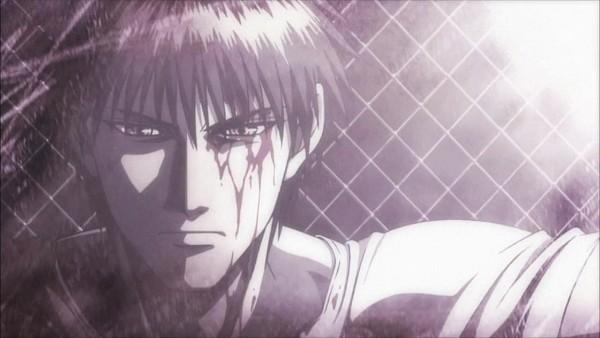 Tags: Anime, Rainbow - Nisha Rokubou No Shichinin, Sakuragi Rokurota, Barbed Wire, Screenshot