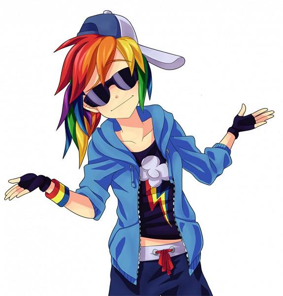 Tags: Anime, Semehammer, My Little Pony, Rainbow Dash, deviantART, Fanart, Fanart From DeviantART, Dash Rainnbow