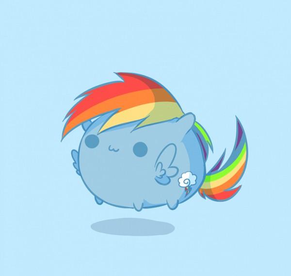 Tags: Anime, Raiponi, My Little Pony, Rainbow Dash, Fanart, PNG Conversion, deviantART, Fanart From DeviantART, Dash Rainnbow