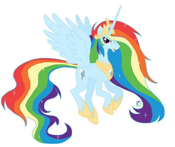 Tags: Anime, Glamourkat, My Little Pony, Rainbow Dash, Cutie Mark, Alicorn, deviantART, Fanart, Fanart From DeviantART, Dash Rainnbow