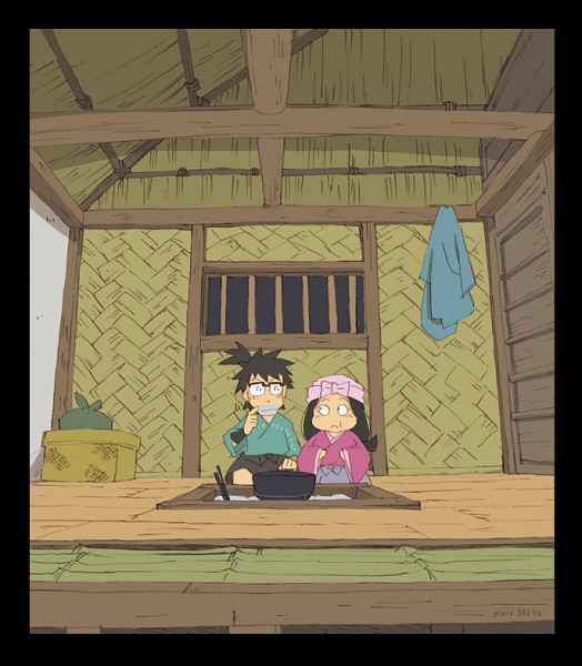 Tags: Anime, Pixiv Id 56576, Rakudai Ninja Rantarou, Fanart, Failure Ninja Rantarou