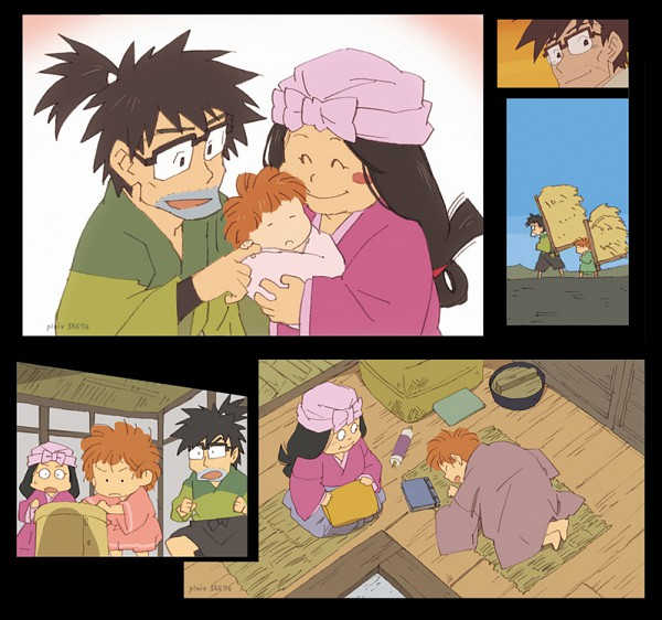 Tags: Anime, Pixiv Id 56576, Rakudai Ninja Rantarou, Inadera Rantarou, Fanart, Failure Ninja Rantarou