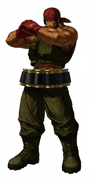 Ralf Jones - The King of Fighters
