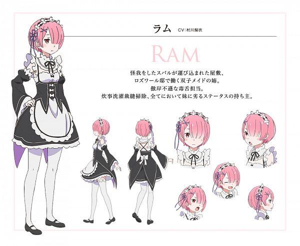 Ram (Re:Zero) - Re:Zero Kara Hajimeru Isekai Seikatsu
