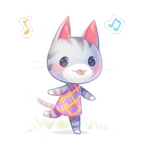 Ramune (Doubutsu no Mori) (Lolly (animal Crossing)) - Doubutsu no Mori