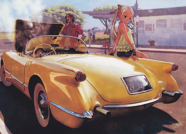 Tags: Anime, Range Murata, Cop Craft: Dragnet Mirage Reloaded, Matoba Kei, Tilarna Exedilika, Original, Scan