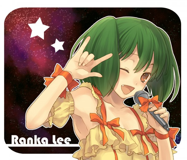 Tags: Anime, Eto Ichika, Macross Frontier, Ranka Lee, Fanart, Pixiv