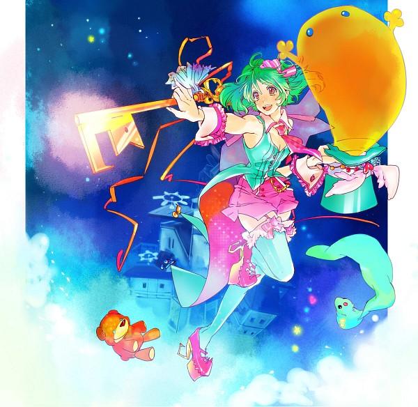 Tags: Anime, Macross Frontier, Ranka Lee, Bright Colors, Niji Iro Kuma Kuma