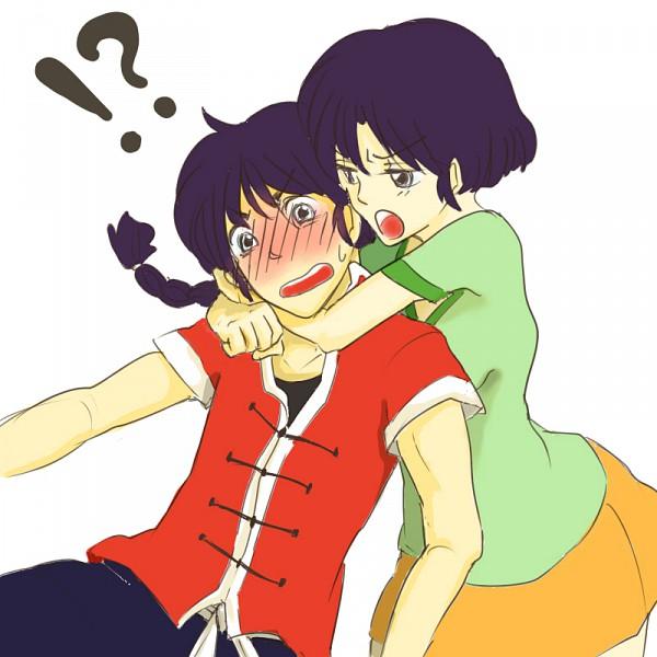 Tags: Anime, Ranma ½, Saotome Ranma, Tendo Akane, Artist Request