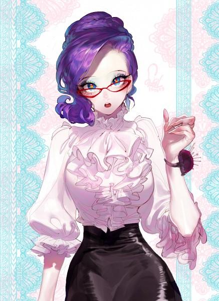 Tags: Anime, Pigeon666, My Little Pony, Rarity, Mobile Wallpaper, Fanart, Tumblr