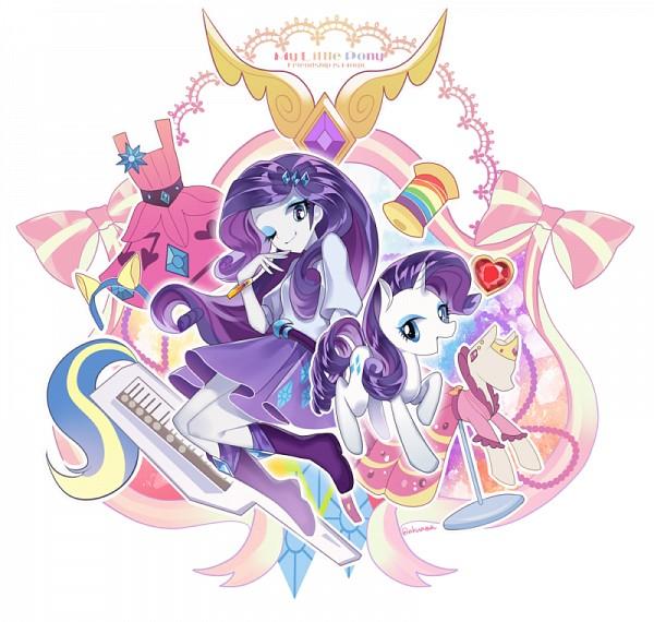 Tags: Anime, Arisusama, My Little Pony, Rarity, Pony, Fanart From Pixiv, Fanart, Pixiv