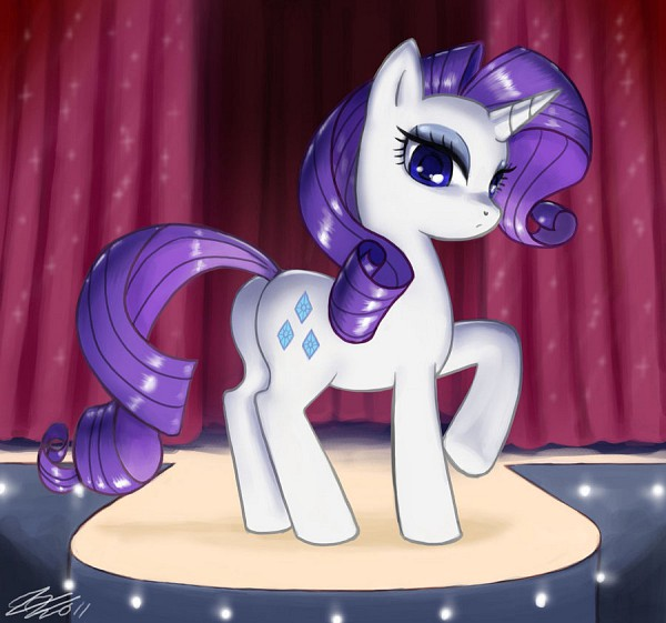 Tags: Anime, John Joseco, My Little Pony, Rarity, Cutie Mark, deviantART, Fanart From DeviantART, Fanart