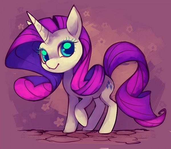 Tags: Anime, Artsquid, My Little Pony, Rarity, Cutie Mark, Fanart From DeviantART, deviantART, Fanart
