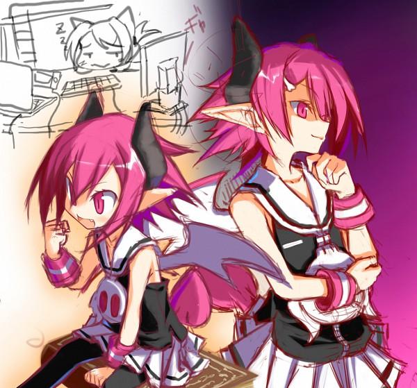 Tags: Anime, Matsuyama Nozomu, Makai Senki Disgaea, Raspberyl, Sketch, Pixiv