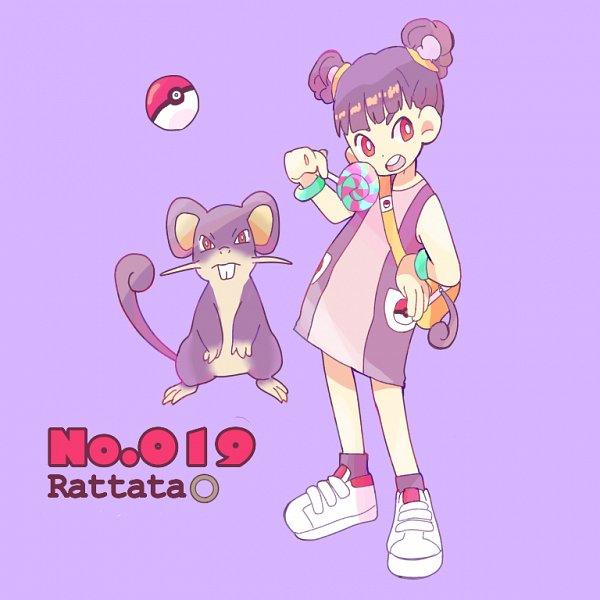 Tags: Anime, Pixiv Id 24424167, Pokémon, Rattata, Purple Legwear, Fanart, Fanart From Pixiv, Pixiv