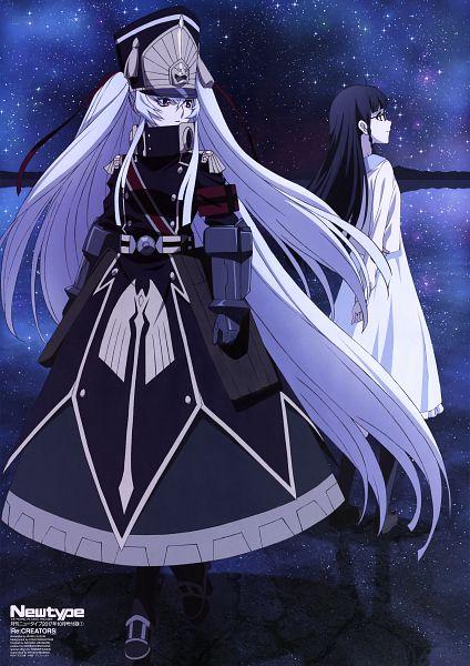 Tags: Anime, TROYCA, Re:Creators, Shimazaki Setsuna, Altair (Re:Creators), Official Art, Scan