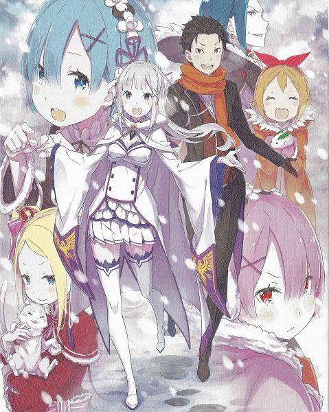 Tags: Anime, Ootsuka Shinichirou, WHITE FOX, Re:Zero Kara Hajimeru Isekai Seikatsu, Re:Zero Kara Hajimeru Isekai Seikatsu: Memory Snow, Petra Leyte, Pack (Re:Zero), Roswaal L. Mathers, Beatrice (Re:Zero), Emilia (Re:Zero), Rem (Re:Zero), Natsuki Subaru, Ram (Re:Zero)