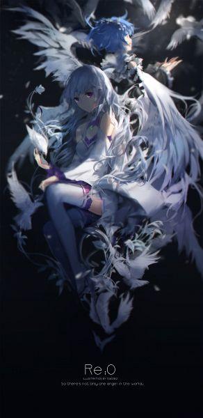 Tags: Anime, swd3e2, Re:Zero Kara Hajimeru Isekai Seikatsu, Emilia (Re:Zero), Rem (Re:Zero), Re:zero − Starting Life In Another World