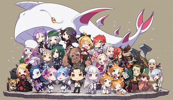 Tags: Anime, Re:Zero Kara Hajimeru Isekai Seikatsu, Petelgeuse Romanée-Conti, Roswaal L. Mathers, Aldebaran (Re:Zero), Thearesia van Astrea, Beatrice (Re:Zero), Anastasia Hoshin, Otto Suewen, Patrasche (Re:Zero), Reinhard van Astrea, Kan (Re:Zero), Tivey Pearlbaton, Re:zero − Starting Life In Another World