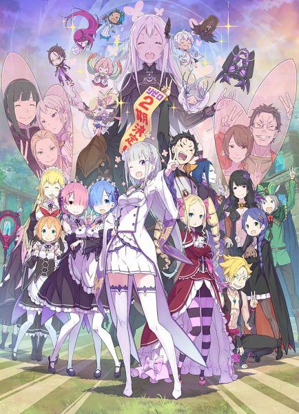 Tags: Anime, Ootsuka Shinichirou, WHITE FOX, Re:Zero Kara Hajimeru Isekai Seikatsu, Daphne (Re:Zero), Hector (Re:Zero), Ram (Re:Zero), Ryuzu Birma, Regulus Corleonis, Elsa Granhiert, Sekhmet (Re:Zero), Pandora (Re:Zero), Pack (Re:Zero), Re:zero − Starting Life In Another World