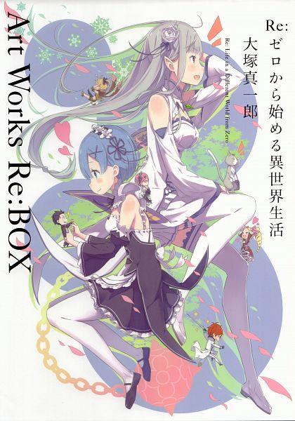 Re:Zero Ootsuka Shinichirou Art Works Re:BOX - Re:Zero Kara Hajimeru Isekai Seikatsu