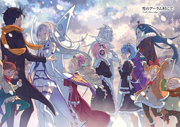 Tags: Anime, Ootsuka Shinichirou, Re:Zero kara Hajimeru Isekai Seikatsu Tanpenshuu, Re:Zero Kara Hajimeru Isekai Seikatsu, Re:Zero Kara Hajimeru Isekai Seikatsu: Memory Snow, Petra Leyte, Pack (Re:Zero), Roswaal L. Mathers, Beatrice (Re:Zero), Emilia (Re:Zero), Lucas (Re:Zero), Rem (Re:Zero), Natsuki Subaru