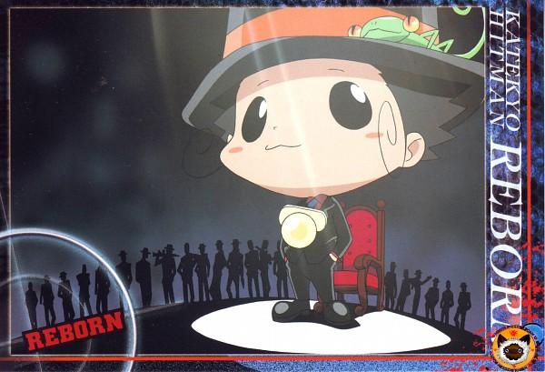 Tags: Anime, Tanaka Masayoshi, Katekyo Hitman REBORN!, Leon (Katekyo Hitman REBORN!), Reborn, Lizard, Mafia, Official Art, Scan