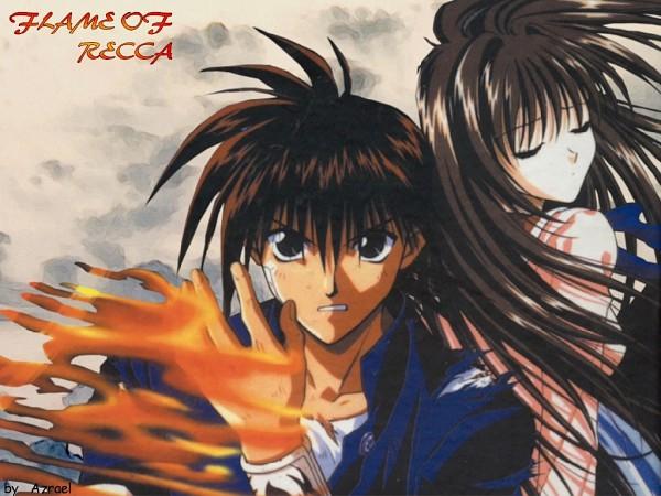 Tags: Anime, Recca no Honoo, Sakoshita Yanagi, Hanabishi Recca, Artist Request, Flame Of Recca