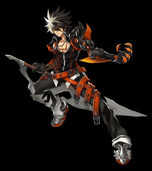 Tags: Anime, Elsword, Reckless Fist (Raven), Raven (Elsword), Official Art