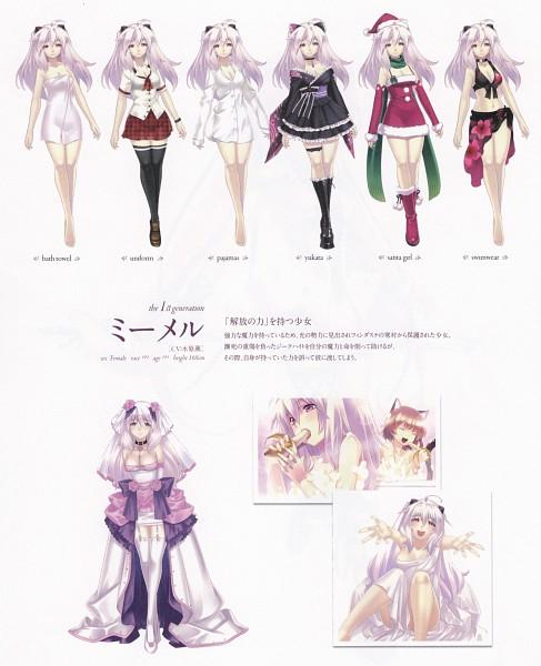 Tags: Anime, Record Of Agarest War - Heroines Visual Book, Agarest Senki Zero, Mimel, Tetora (Agarest Senki Zero)