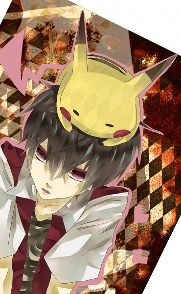 Tags: Anime, Pixiv Id 2069765, Pokémon, Red (Pokémon), Pikachu, Mobile Wallpaper