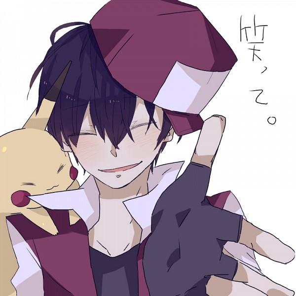 Tags: Anime, Pixiv Id 2069765, Pokémon, Red (Pokémon), Pikachu