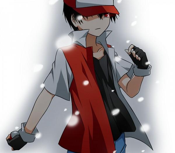 Tags: Anime, Azrain, Pokémon, Red (Pokémon)