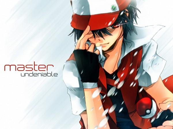 Tags: Anime, Muten, Pokémon, Red (Pokémon), Edited