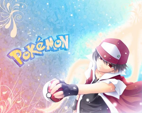 Tags: Anime, Pokémon, Red (Pokémon), Wallpaper