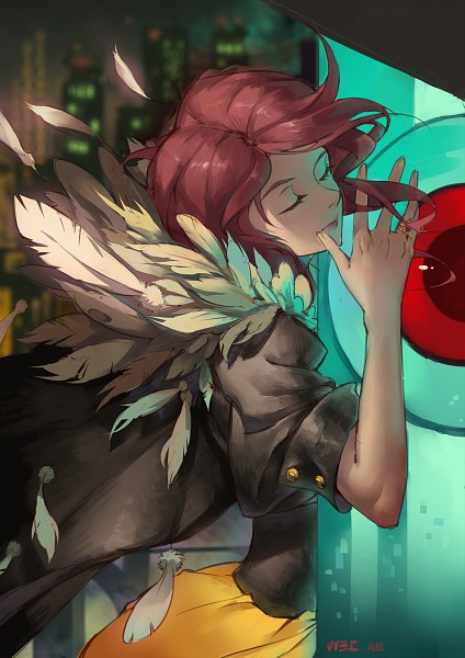 Tags: Anime, Pixiv Id 2799242, Transistor (Game), Red (Transistor), Transistor, Fanart, Mobile Wallpaper, Fanart From Pixiv, Pixiv