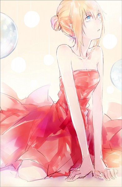 Red Dress - Dress